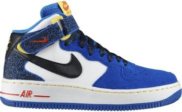 Buty Nike Air Force 1 MID (GS) Hyper Cobalt/Photo Blue 314195 403