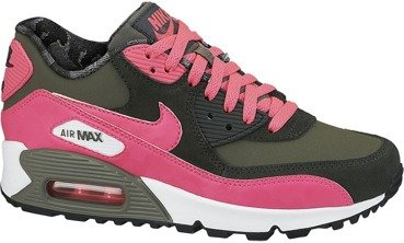 Buty Nike Air Max 90 2007 (GS) Iron Green-Hyper Pink 345017 300