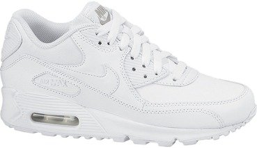 Buty Nike Air Max 90 (GS) All White 307793 167