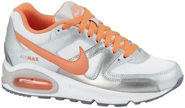 Buty Nike Air Max Command (GS) Bright Mango/Metallic Silver 407626 113