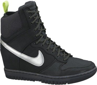 Buty WMNS Nike Dunk Sky Hi Sneakerboot 2.0 Black 684954 001