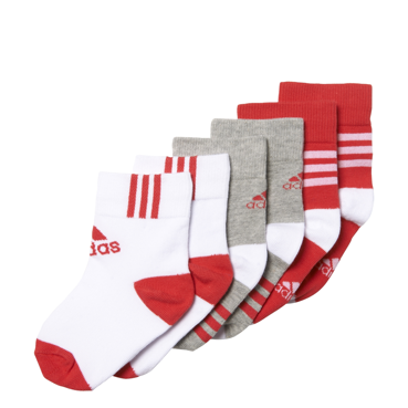 Skarpety adidas Little Kids Ankle Sock 3Pairs AY6535