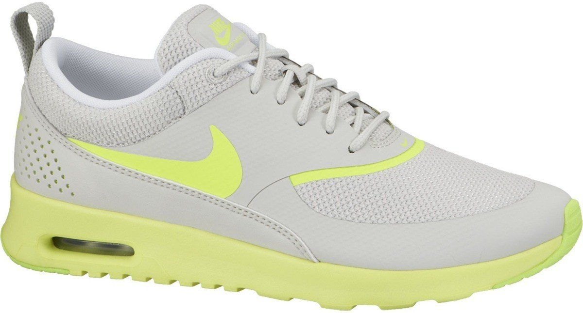 Buty WMNS Nike Air Max Thea Light Bone/Volt-Metallic Silver  599409 012
